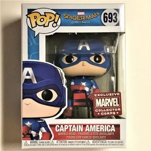 FUNKO POP -MARVEL- Captain America #693 (new)